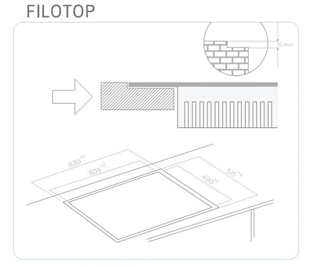 vstavan spotrebi e elica nikola tesla hp bl f 83. Black Bedroom Furniture Sets. Home Design Ideas